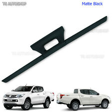 Matte Black Tailgate Tail Gate Cover For Mitsubishi L200 Triton Pickup 2015 2016