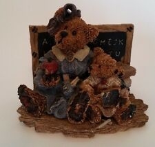 Boyds Bears and Friends {The Lesson} 1994 Fine Porcelain Figurine