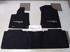 Toyota Tundra TRD PRO Double Cab Factory Carpet Floor Mats Genuine OEM OE