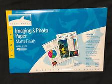 Great White Imaging & Photo Paper -Matte Finish Ultra White 11 x 17 - 25 Sheets