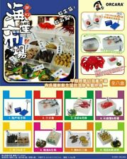 Orcara 1:12 Scale Seafood Market Dollhouse Miniatures Doll Accessories Toy Set