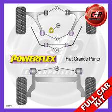 Fiat Punto Evo (2009 in Poi) Powerflex Completo Kit Boccole