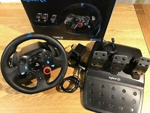 Logitech 222B411 G29 Racing Wheel and Pedals for PS4/PS3 and PC - Boxed