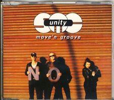 SMC Unity-Move 'N Groove 4 trk Maxi CD 1993