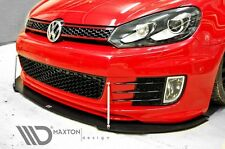 MD - VW GOLF MK6 GTI 35TH 08-12 ABS PLASTIC FRONT BUMPER LIP SPLITTER