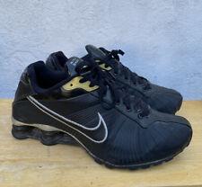 2008 Nike Shox Classic II 325183-002 Black Silver men's shoes size 9.5