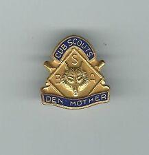 Cub Scouts Den Mother Pin