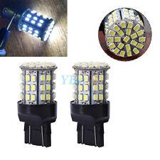 2Pcs T20 7440 7443 64-SMD Car Reverse / Backup Brake Tail LED Bulb Light Lamp