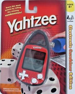Yahtzee Electronic Carabiner Edition Hand-Held Dice Game Ages 8+ by Hasbro NEW