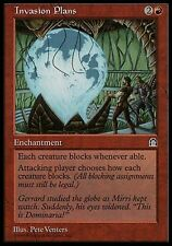 1x Invasion Plans Stronghold MtG Magic Red Rare 1 x1 Card Cards