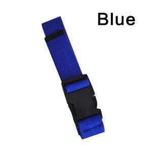 3.2*120cm Womens Men Outdoor Nylon Canvas Adjustable Waist Belt Plastic Buckle