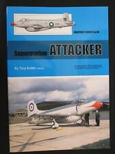 Warpaint 94 - Supermarine Attacker  - Color Profiles, Line Drawing, Photos