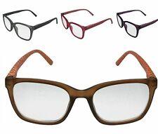 Reading Glasses Readers for Women Rectangular Spring Hinge Power Reading Reader