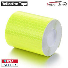 10ft Car Reflective Safety Warning Conspicuity Tape Film Sticker Decal Yellow