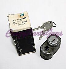 1968-1982 C3 Corvette Spare Tire Tub Lock NOS GM 3912416 With Keys