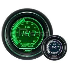 Prosport 52mm EVO Car Wideband Air Fuel Ratio Green White LCD Digital Display