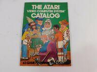 ORIGINAL VINTAGE Atari Video Computer System Catalog 1981