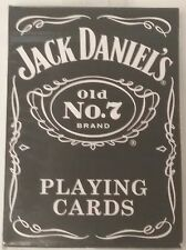 Bicycle Jack Daniels Whiskey Black Old No.7 Poker Playing Cards