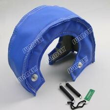 BLUE TURBO T4 UNDER/OUT TURBO HEAT SHIELD BLANKET KIT T67 T71 T76 T88 GT40 GT45