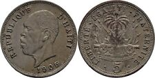 5 Centimes 1905 Haiti, Kanone #EA13
