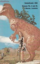 Postcard Cementland USA Monroe Louisiana LA