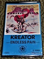 Kreator – Endless Pain. VG Cassette Tape Plays Well Hardcore Thrash Rare