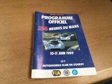 24 Heures Du Mans June 1989