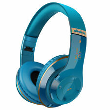 Bluetooth Headset Wireless Noise Cancelling Over Ear w/ Microphone Headphone
