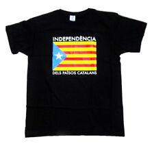 Camiseta Bandera Estelada independencia de Cataluña DEL PAISOS CATALANS