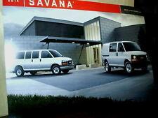 """2014 GMC Dealer Poster GM Savana 23"""" X 15 1/2"""""""
