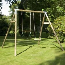 TP Toys TP304 Wooden Swing Frame Forest Double