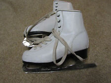 Bronze Star Ice Figure Roller Skating Womens Boot Size 4 8 2/3 blade gs black dr