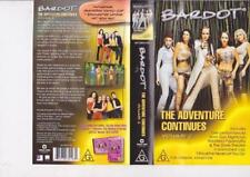BARDOT THE ADVENTURE CONTINUE   VHS VIDEO PAL~