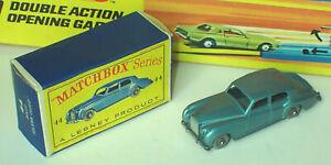 Matchbox 44a Rolls-Royce Silver Cloud Mint in Near Mint Box