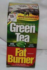 Green Tea Fat Burner Pills,200, 400mg, EGCG Weight Loss Applied Nutrition
