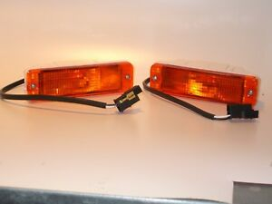2x Blinker VW Golf 1 u. Golf 1 Cabrio -Bj. 88 (schmale Stoßstange), GELB, NEU