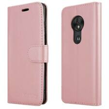 For Motorola Moto G7 Play Phone Case Leather Folio Wallet Book Stand View Cover