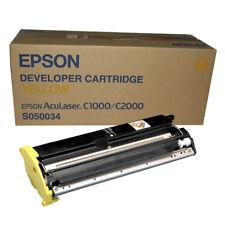 ORIGINAL Epson C13S050490 S050490 Aculaser CX28DN CX28 vers  n  ER JAUNE