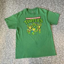 Nickelodeon Large Teenage Mutant Ninja Turtles Retro T Shirt Green