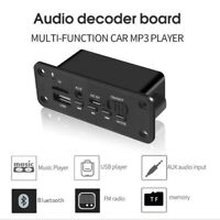 Bluetooth MP3 Player Decoder Board 2 x 3W Speaker Car FM Radio Module 5V TF ~QA