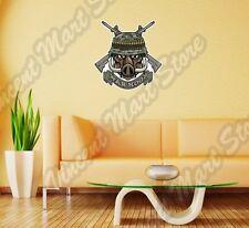 "War Hogs Boar Pig Army Military Machine Gun Wall Sticker Room Interior Decor 22"""
