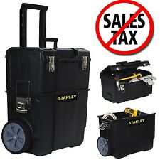 Portable Tool Box Organizer Rolling Toolbox Mobile Chest Storage Stanley 1d
