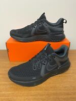 Nike Legend React 2 Shoes Black Anthracite Gray AT1368-002 Men's NEW