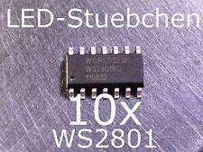 10x WS2801 LED-Treiber IC (Pixel, Stripes, KSQ)