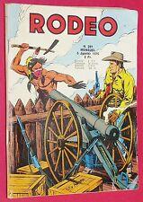 PETIT FORMAT LUG RODEO N°281 JANVIER 1975 TEX & LES 2 DE L'APOCALYPSE