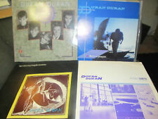 "13 lp lot Duran Duran 12"" EP albums postcard POSTER promo collector picture disc"