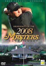 2008 Augusta Masters Tounament (DVD, 2008)