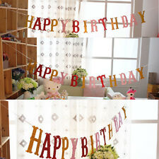 2.5m Happy Birthday Party Garland Design Birthday Party Bunting Banners Decor