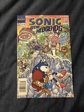 Archie Comics Sonic The Hedgehog #32 1996 Wear on front and back bottom