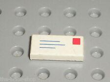 Lettre LEGO Tile 1 x 2 with Letter Pattern 3069bp01 / Set 10025 2150 4556 6362..